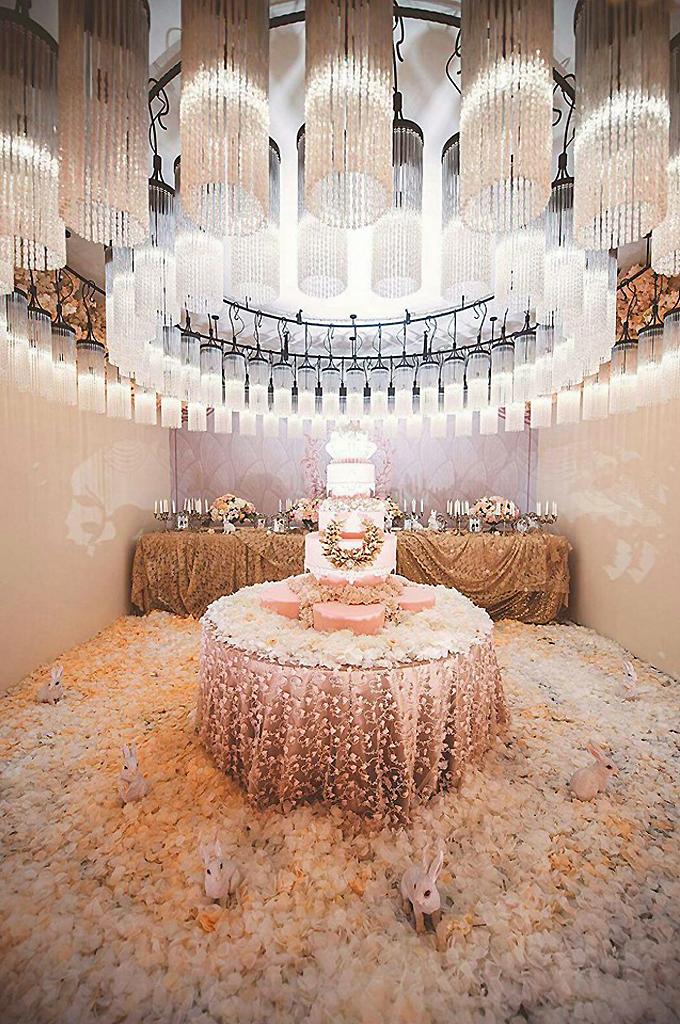 陳妍希世紀婚禮佈置