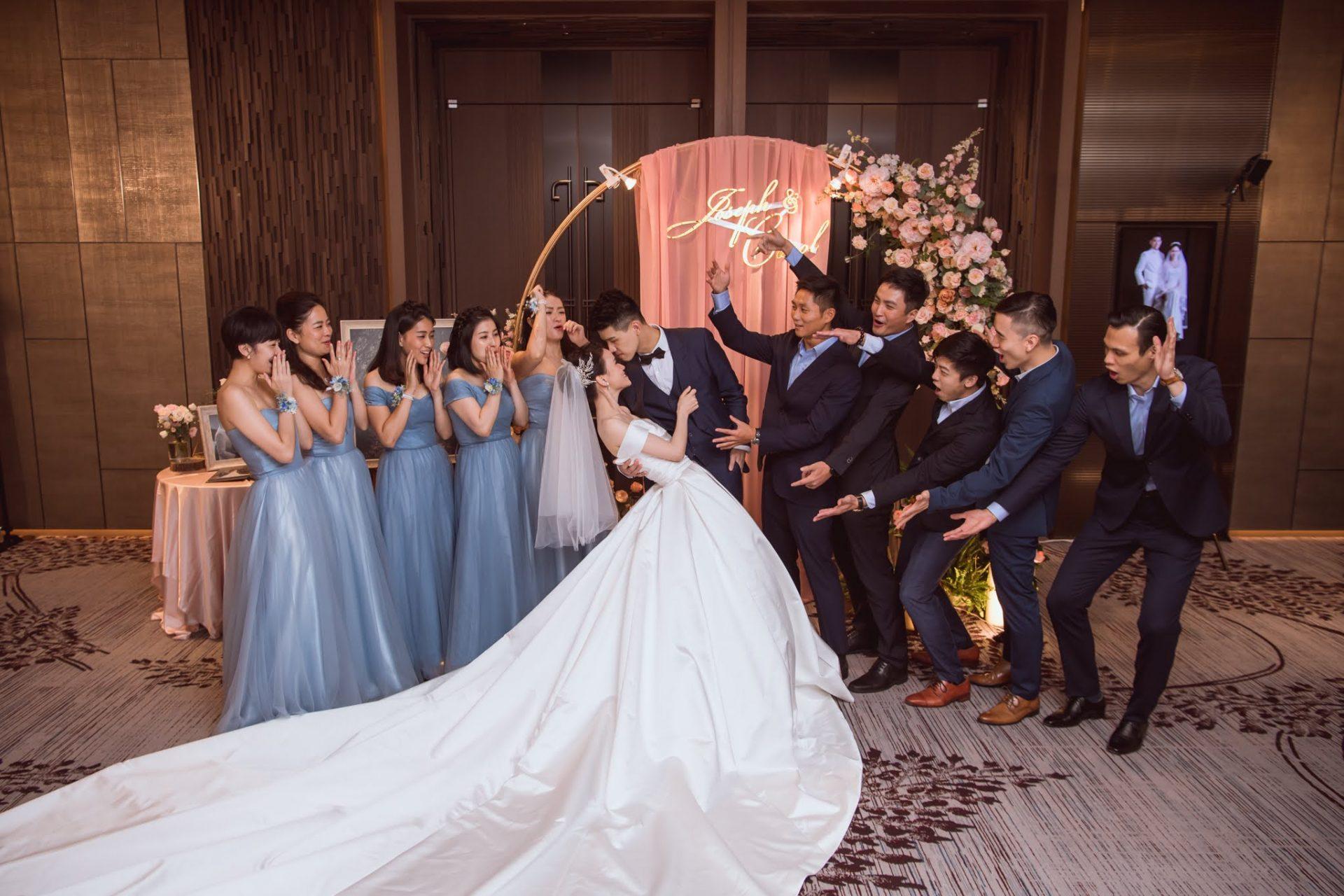萬怡酒店婚禮佈置