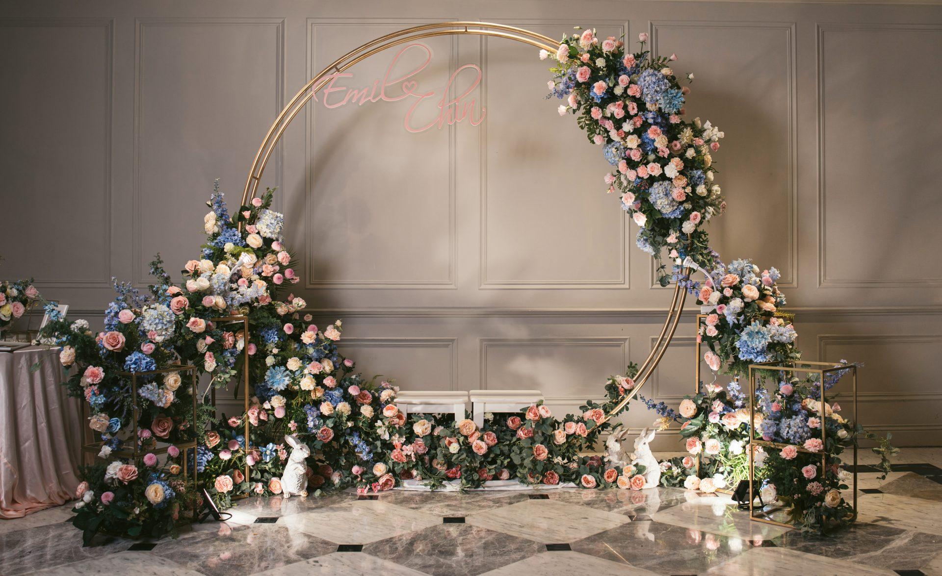 翡麗詩婚禮佈置