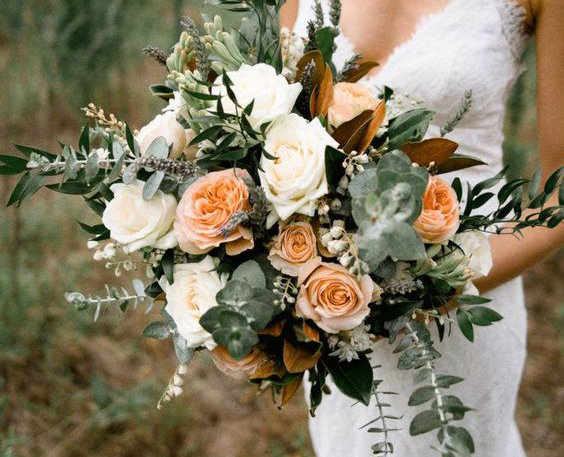 婚禮花束新娘捧花